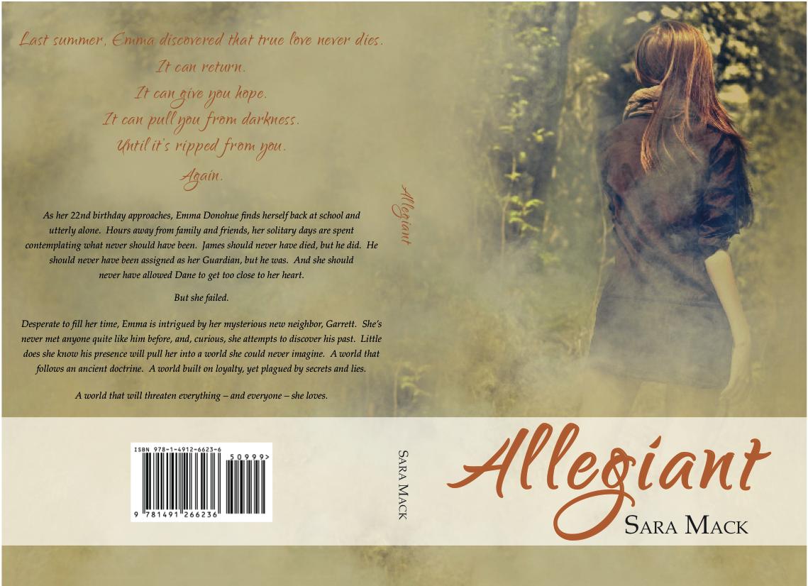 Allegiant Paperback Cover